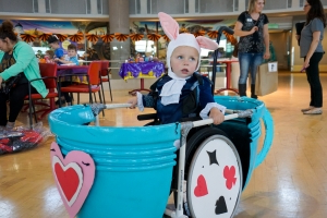 Kids in wheelchairs get epic Halloween costumes. It makes all the difference.