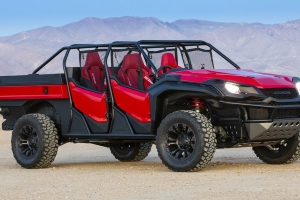 The Honda Rugged Open Air Vehicle Concept Is the Side-by-Side Thing of the Moment