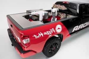 Toyota Tundra Pie Pro SEMA concept is a Pizza Hut on wheels
