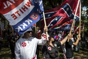White supremacy group members indicted on charges of inciting violence at political rallies