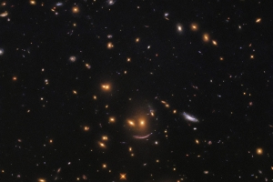 NASA Hubble telescope captures smiling face in space