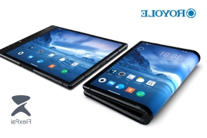 Royole introduces the world's first foldable smartphone