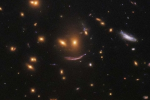 Hubble Telescope spots smiling face staring back at it in search for newborn stars