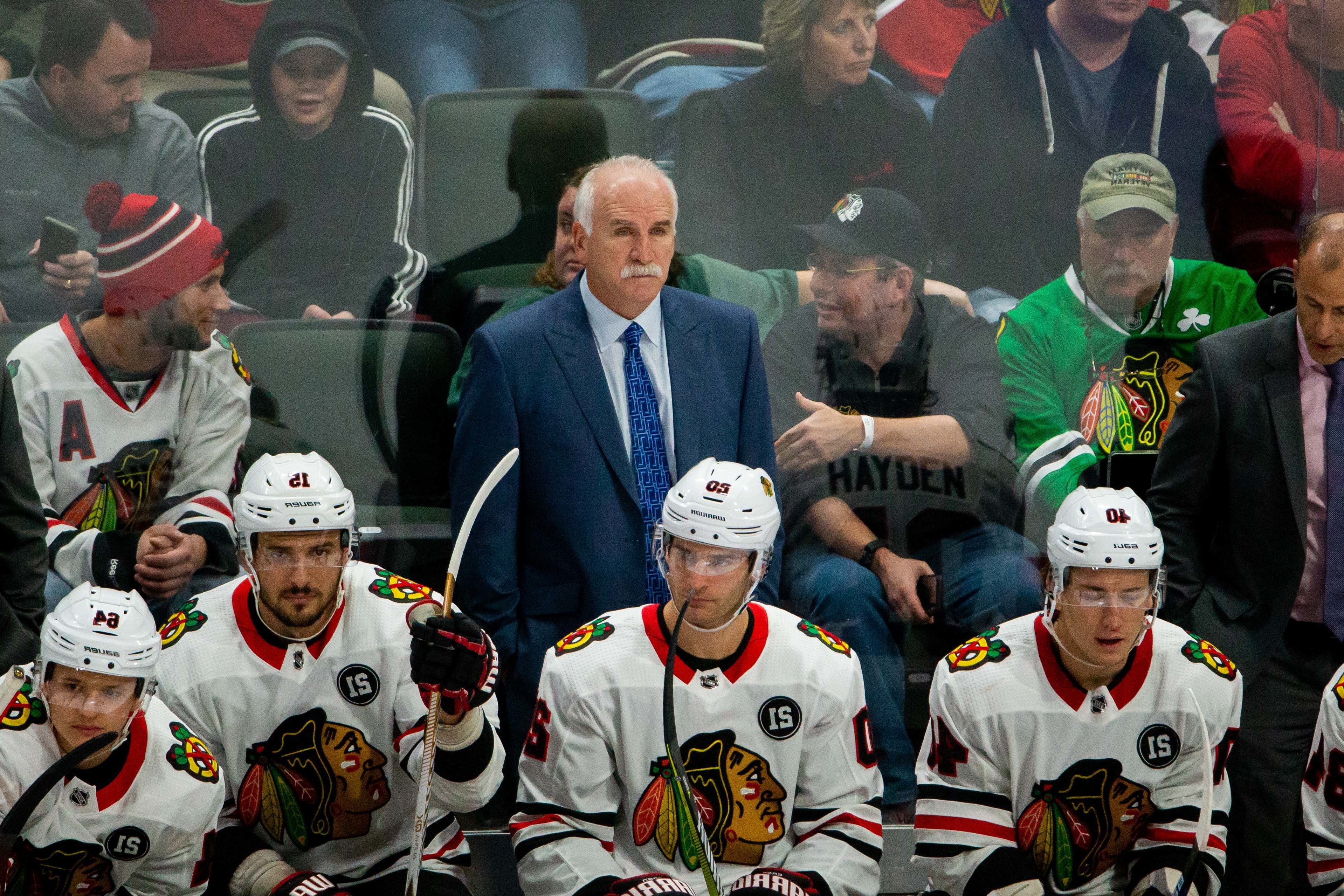 Twitter left stunned after Blackhawks fire Joel Quenneville