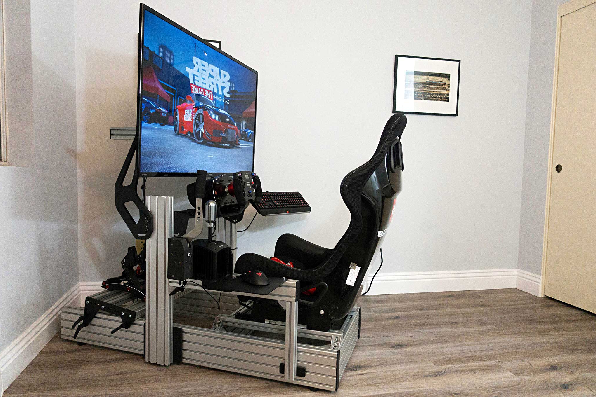 Enthusiasts: First Look: Sim Labs P1 Sim Racing Cockpit