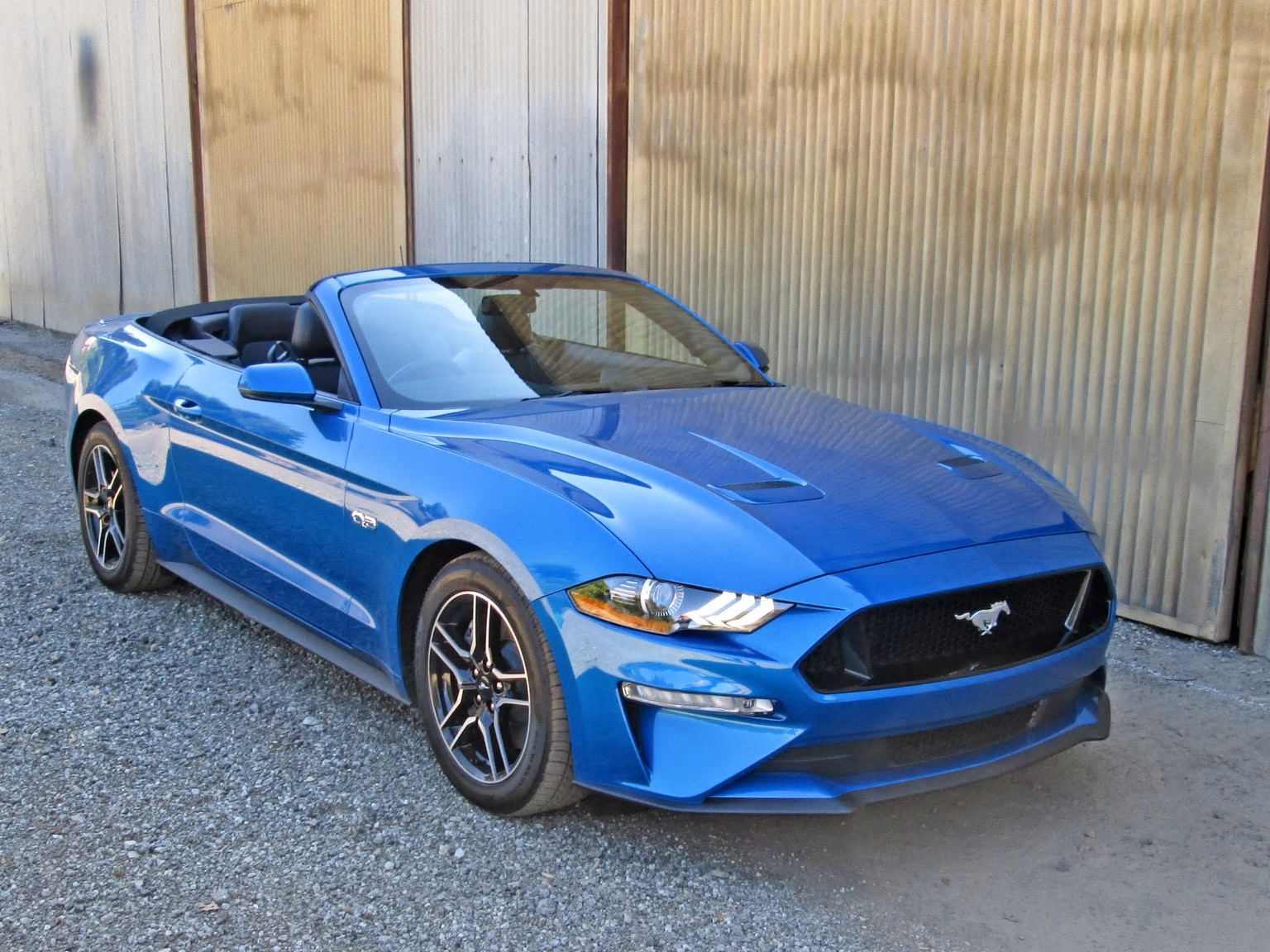 Reviews One Week With 2019 Ford Mustang Gt Convertible Premium Pressfrom Us