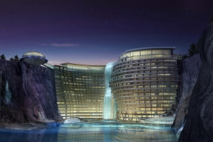 Underground Hotel Built Inside a Quarry Will Soon Open