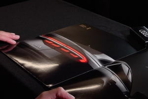 Audi A8 lights COME TO LIFE in crazy magazine advert