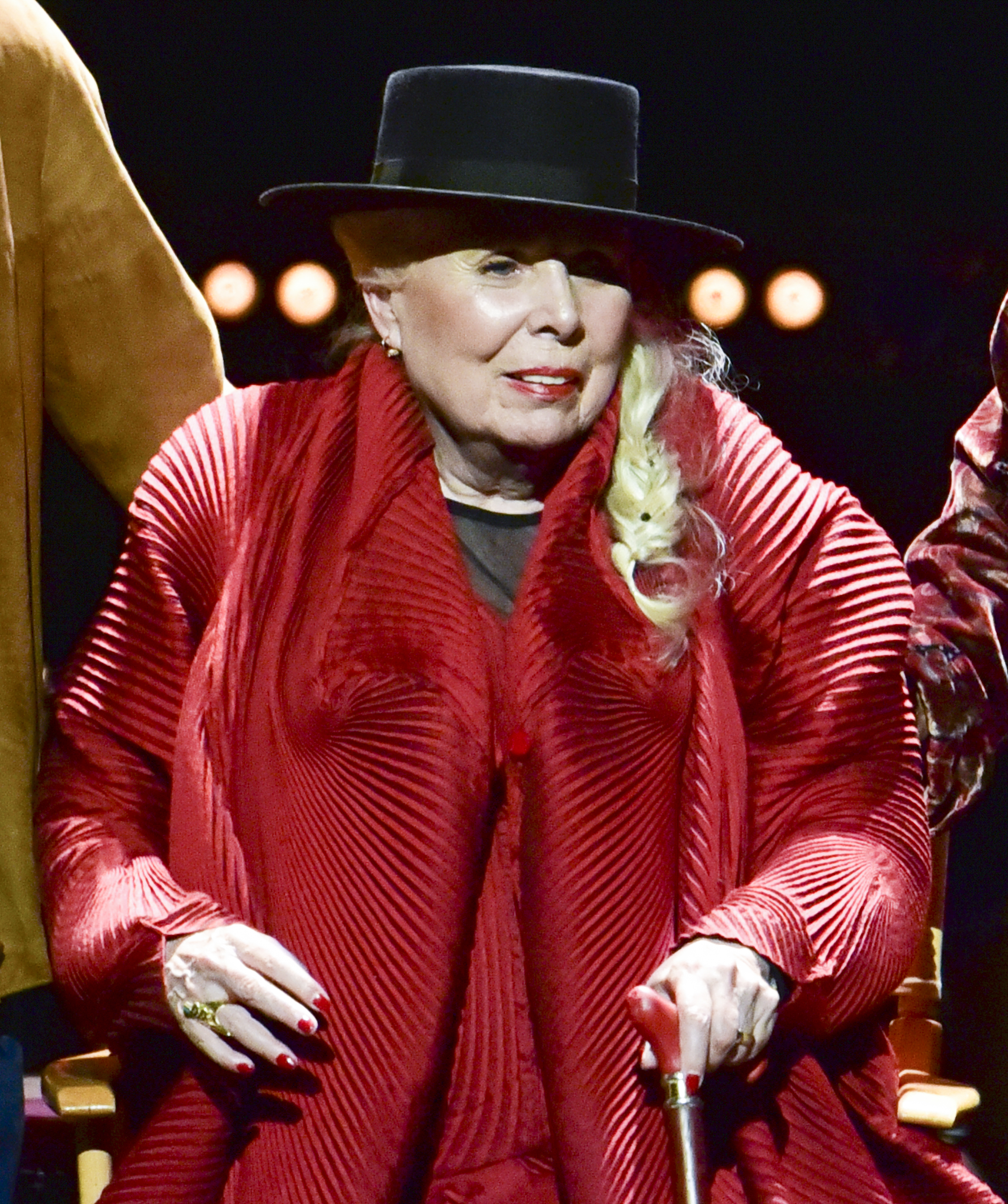 Joni Mitchell gave fans the ultimate gift on her birthday. She graced them with her presence