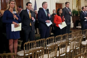 Reporters slam White House decision to bar CNN's Acosta