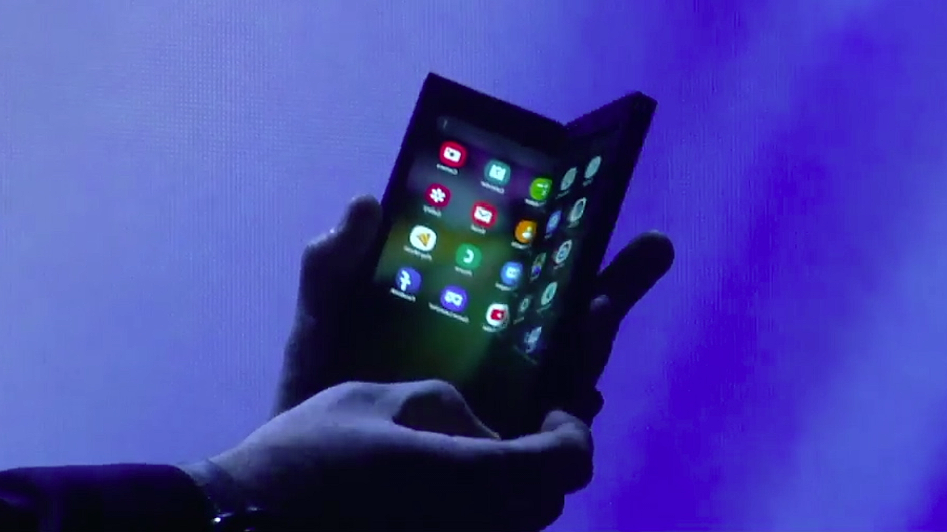 For Samsung's foldable phone, these apps would make a good start