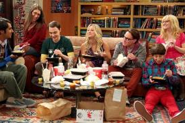 Kaley Cuoco Totally Eats It on Set in 'Big Bang Theory' Behind-the-Scenes Look (Video)