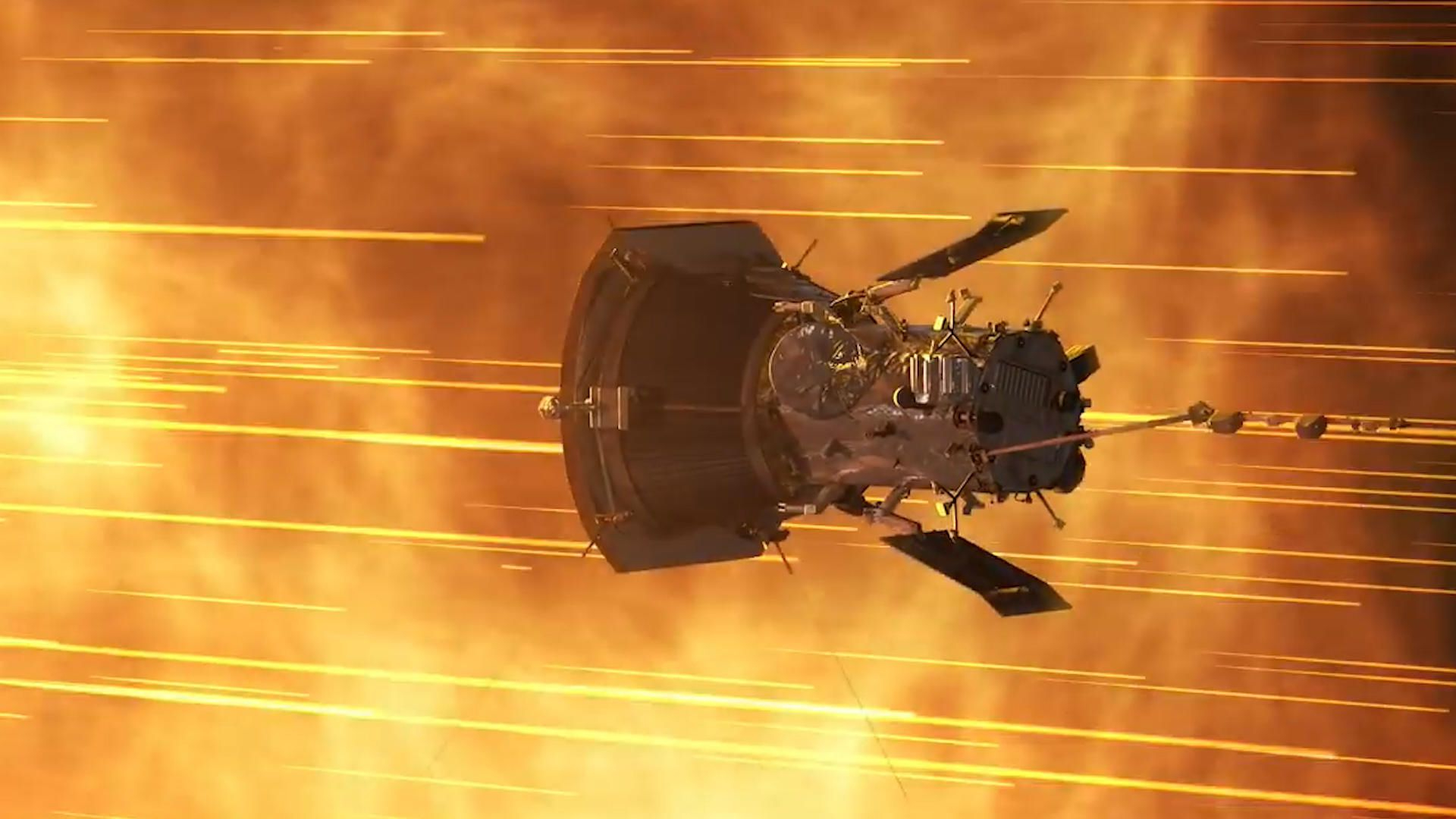 NASA solar probe 'alive and well' after first encounter with the sun