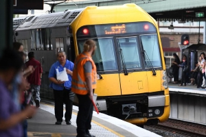 Sydney train line closed after freight train derails at Minto