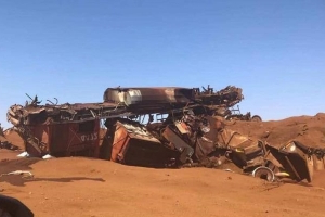 When a runaway train crashes in the WA desert, its impact is felt around the world