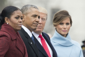 Michelle Obama: 'I stopped even trying to smile' during Trump's inauguration