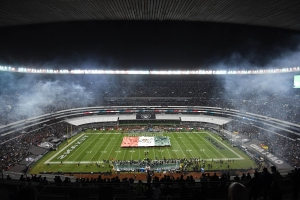 Check out the field conditions that are jeopardizing Chiefs-Rams in Mexico  City 084e4af852b