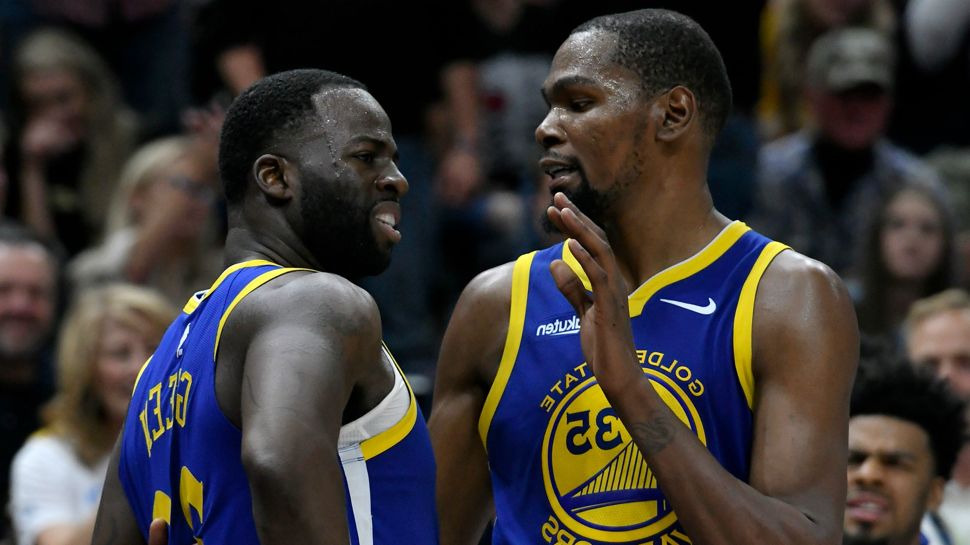 7522e677f719 Sport  Heated Kevin Durant-Draymond Green exchange  just team spirit ...