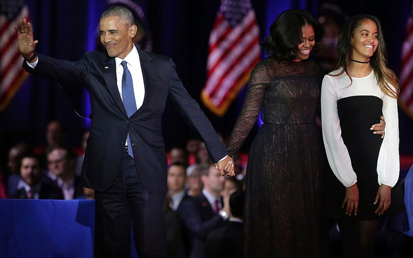5dc18c29439 Malia Obama Had One Very Typical Teenage Request for Barack and Michelle on Her  Prom Night