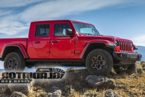Jeep Gladiator leaks online ahead of LA Auto Show debut