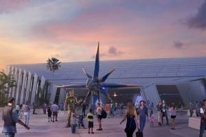 Disney unveils spinning Guardians of the Galaxy roller coaster cars, new ride details