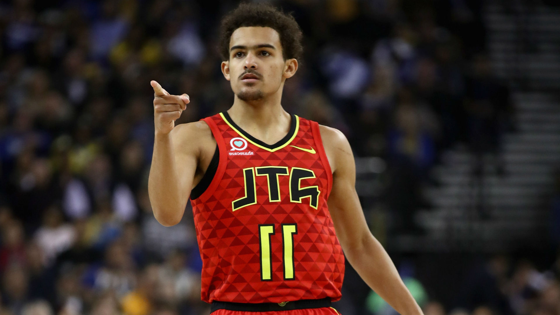 Sport Trae Young On Luka Doncic I M Going To Be A Better