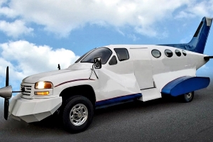 Behold the Beautiful Monstrosity That Is a Plane-Inspired GMC Sierra 2500 HD
