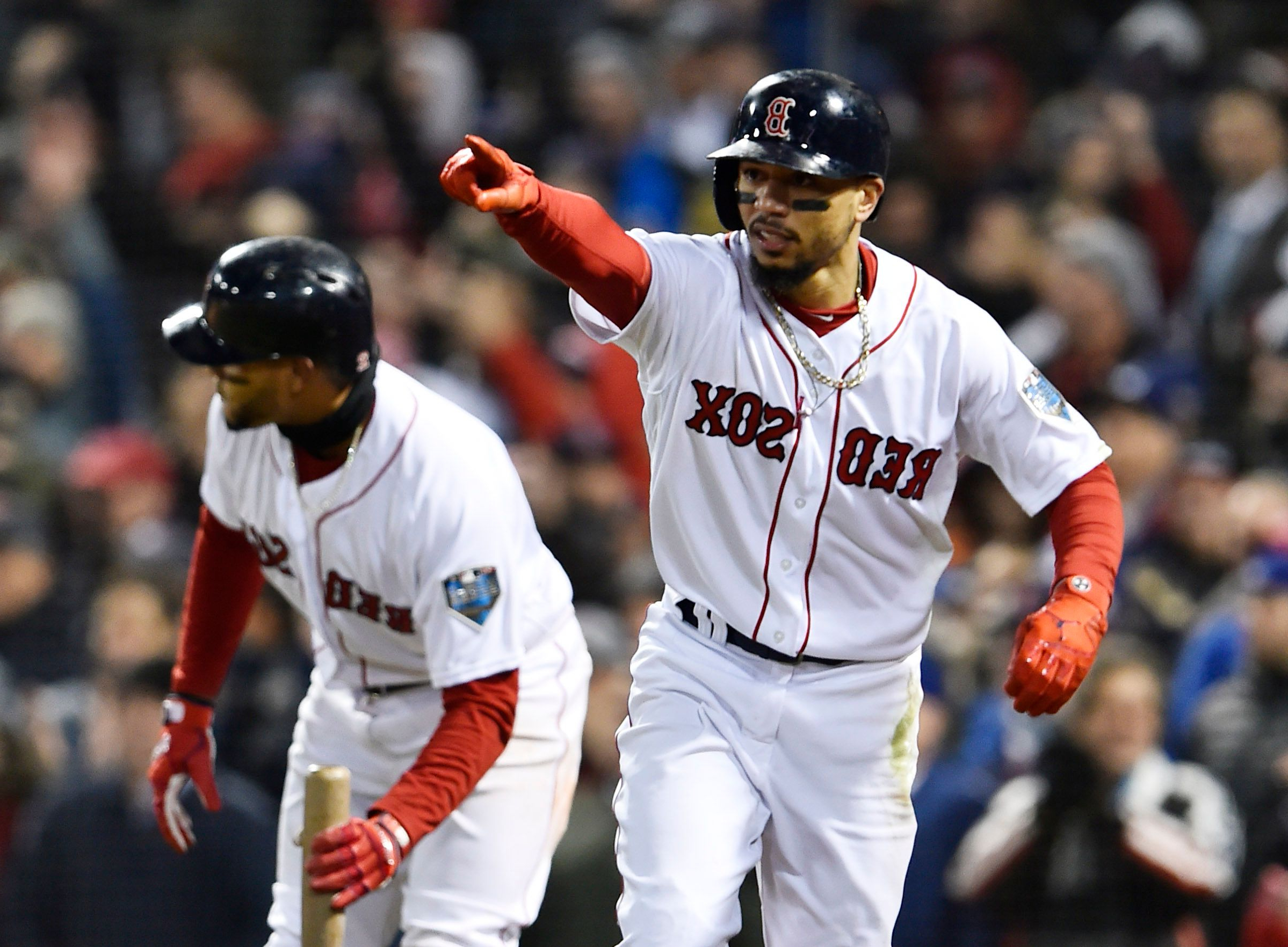 c27b1a112f5 Red Sox right fielder Mookie Betts caps historic season with AL Most  Valuable Player award