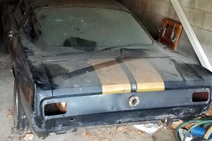 This Half-Finished Mustang Shelby GT350H Project Car Is One Serious Barn Find