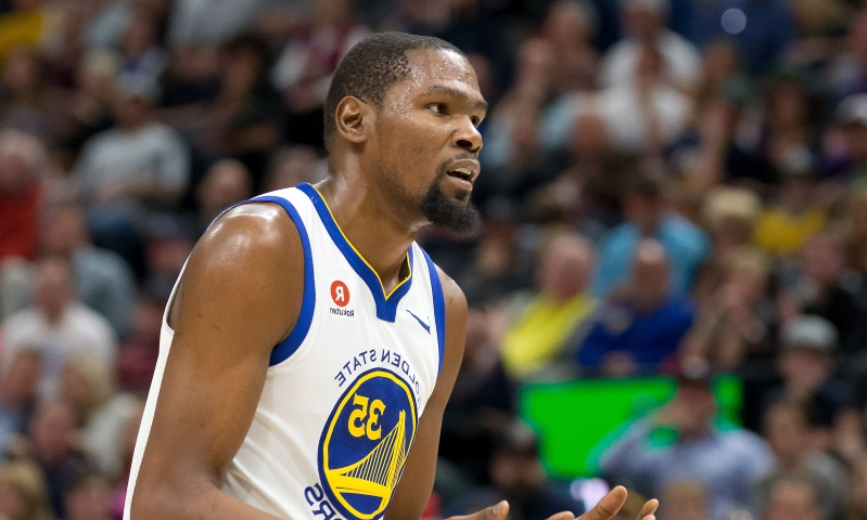 separation shoes 70e75 50a89 Kevin Durant to be fined  25,000 for swearing at fan