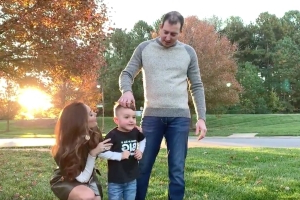 Kyle and Samantha Busch announce second pregnancy