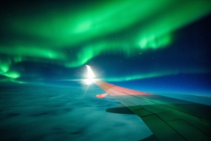 How to See the Northern Lights When You Fly, According to an Icelandair Pilot