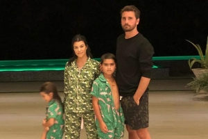 Kourtney Kardashian Has a Sleepover with Scott Disick So They Can Spend Thanksgiving as a Family