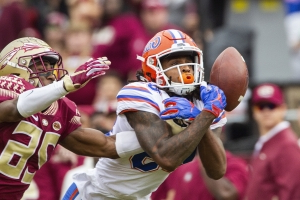 Franks helps Florida win 41-14, end skid vs Florida State
