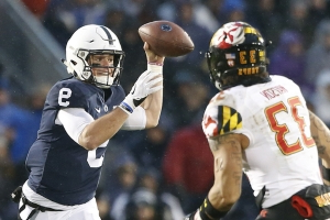 McSorley helps No. 15 Penn State rout Maryland 38-3