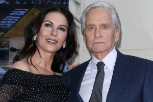 Michael Douglas almost messed up Catherine Zeta-Jones romance with forward comment