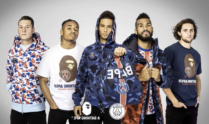 Style  BAPE s associe au Paris Saint-Germain autour d une collection ... 8f627d39096