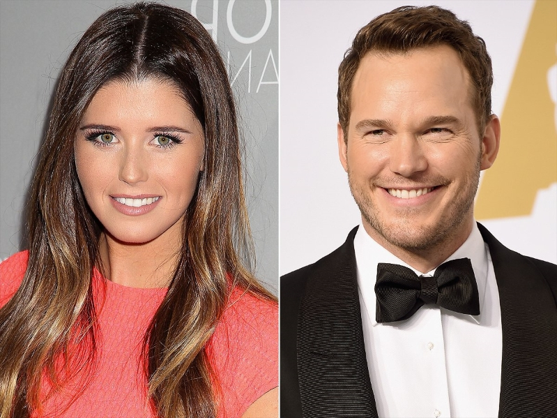 Chris Pratt & Katherine Schwarzenegger Were 'Affectionate' at Thanksgiving with Her Family: Source