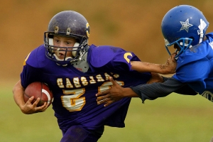 Even 1 season of youth football may damage brain, study says