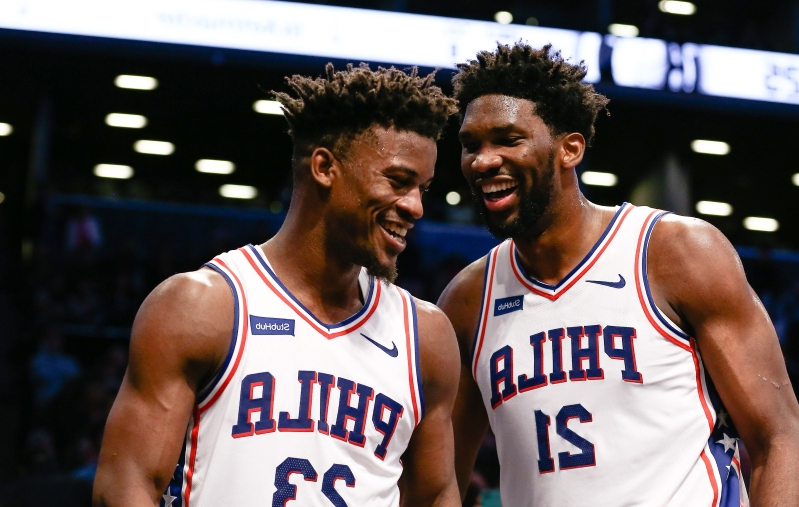 7e55b3cb2d2 Jimmy Butler on future with Sixers   I could see this being being home