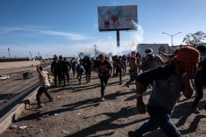 Trump Fact Checked By Border Chief Over Use of Tear Gas
