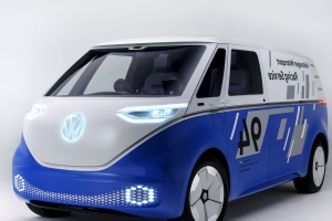 Volkswagen I.D. Buzz Cargo Concept Reimagined as Race Support Van