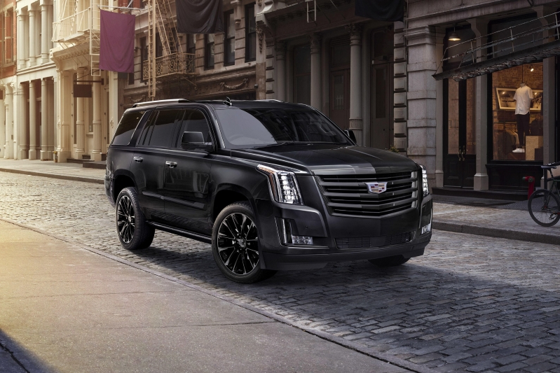 2017 Cadillac Escalade Esv Premium Luxury >> Auto Shows: 2019 Cadillac Escalade gets blacked-out Sport Edition package - - PressFrom - US