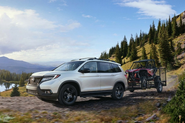 Auto Shows 2019 Honda Passport Fills An Suv Sized Gap In Its North