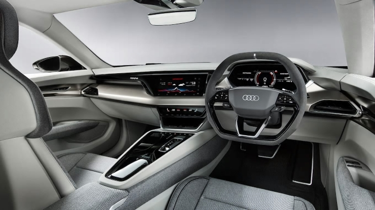 Auto Shows Audi E Tron Gt Concept To Begin Production In 2020