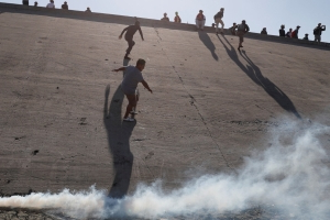 Border Patrol also used tear gas and pepper spray at US-Mexico border during Obama administration