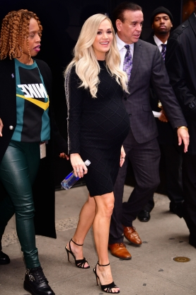 05bb85db2be70 Entertainment: Carrie Underwood's pregnancy fashion takes an ...