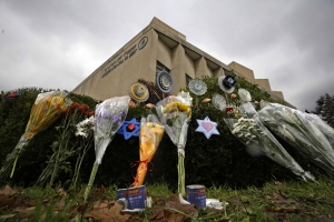 Chaplain injured in synagogue mass shooting out of hospital