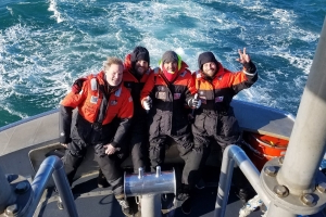 Four sailors aboard sailboat from Annapolis rescued off North Carolina coast