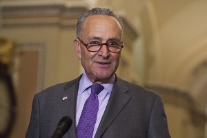 Schumer floats stopgap spending bill amid border wall fight